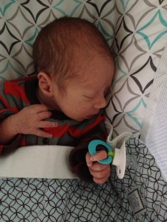 Don't touch Finn's pacifier!