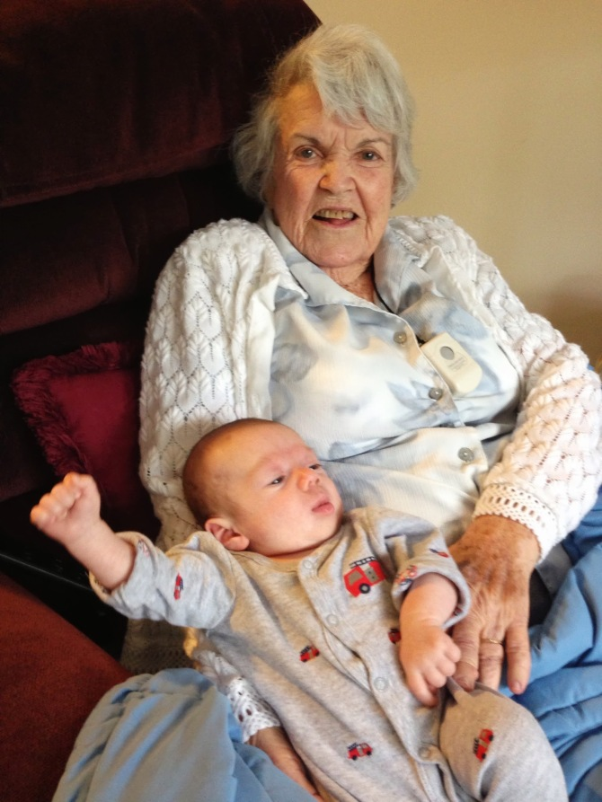 Finn's great grandmother, Vina Bell Hedges.
